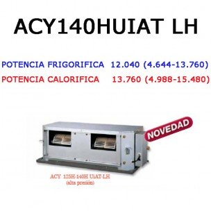Conductos Inverter Serie A Trifasico (alta presion)