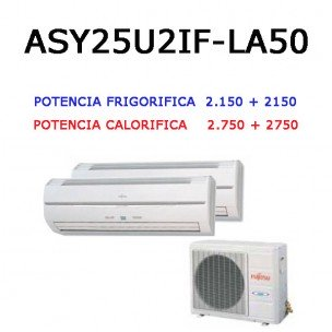 Multisplit Inverter 2x1 (Oferta)